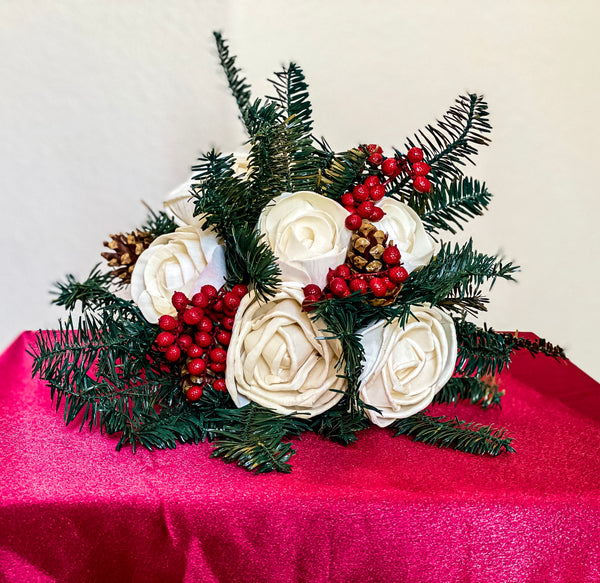 Half Dozen Winter Theme Bouquet