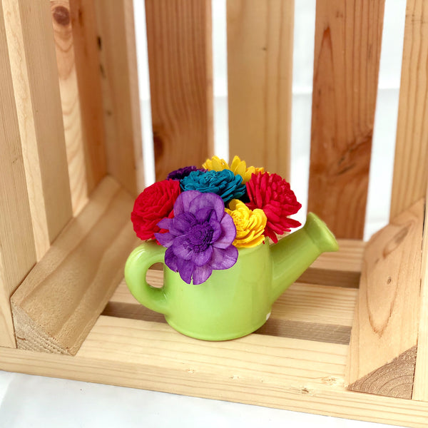 Watering Can- Multicolored