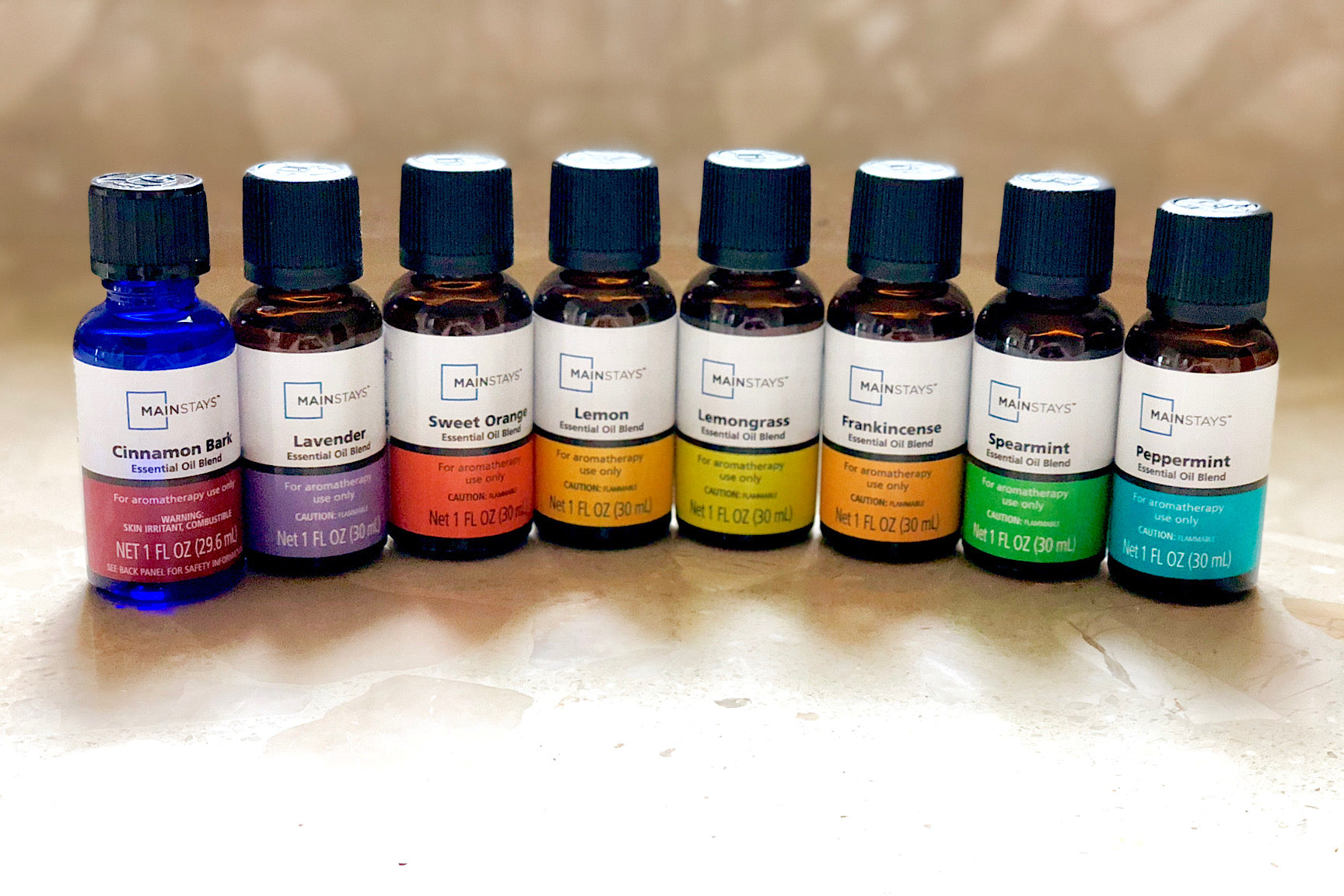 Essential Oil Line Up 1