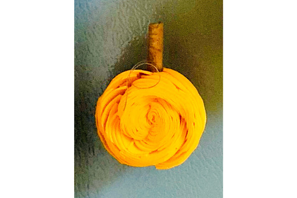 Yellow Pumpkin Magnet