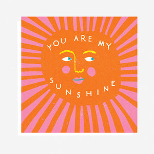 The Printed Peanut - You Are My Sunshine By Louise Lockhart