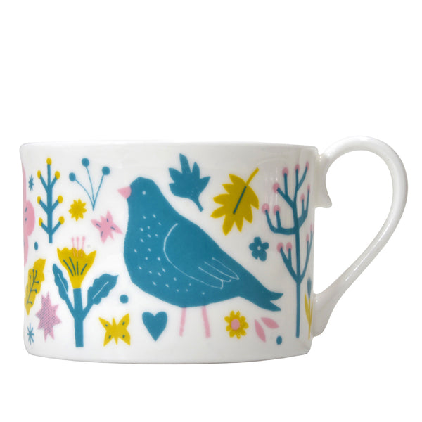 SALE - The Printed Peanut - Garden Tea Cup