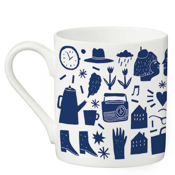 SALE 50% OFF!! - The Printed Peanut - Morning Mug