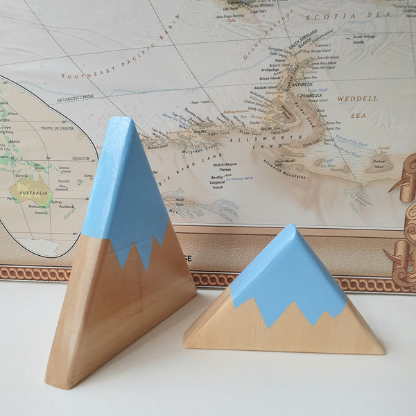 Blossom & Bee Kids - Limited Edition Wooden Mountains Decor - Set of 2