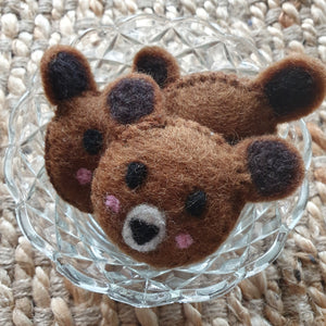 Little Felt Bears - Open Ended Loose Parts Play