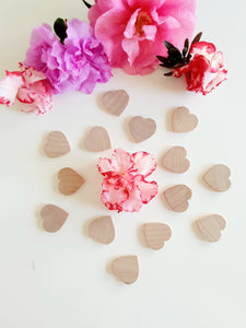 Little Wooden Hearts - Loose Parts Play