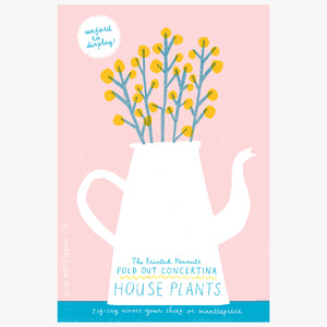 The Printed Peanut - House Plants Concertina Book