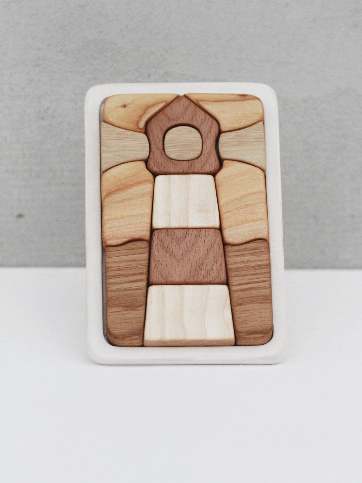 Tateplota - Wooden Mosaic Puzzle - Lighthouse