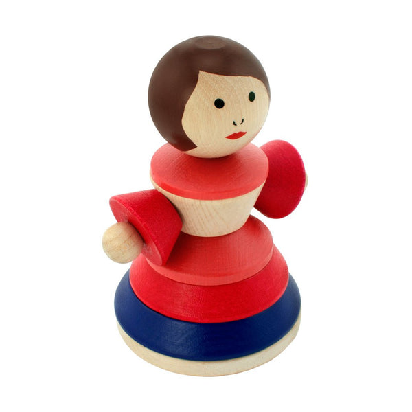 Happy Go Ducky - Wooden Stacking Doll - Sue