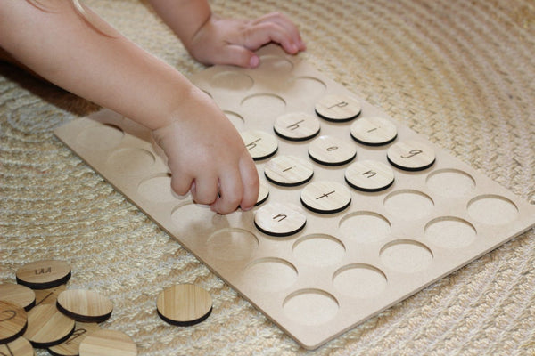 Count By Nature - Rectangle Play Board