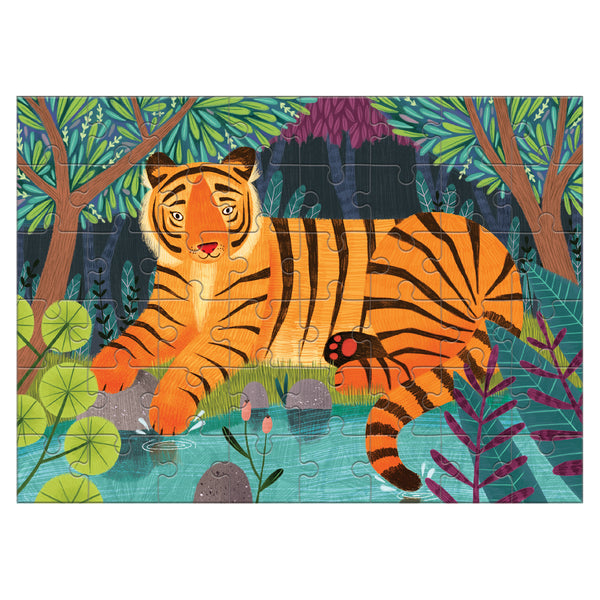 Bengal Tiger Mini Puzzle