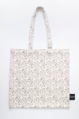 Botanical Organic Cotton Tote Bag