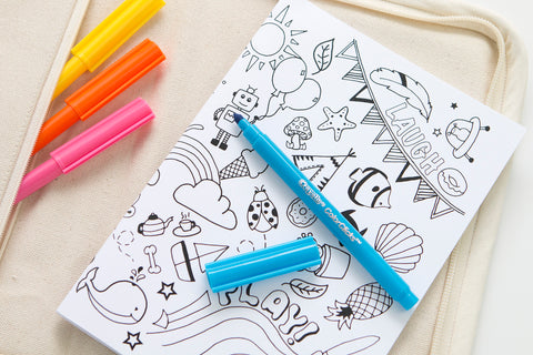 Fun Colour In Notebook