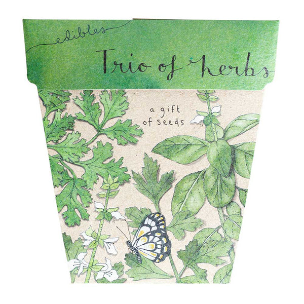 Sow N Sow - Trio Of Herbs Gift Of Seeds