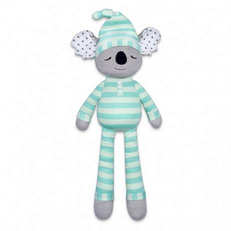 30 % Off!! SALE - Apple Park Organics - Kozy Koala Dummy Holder Rattle Toy