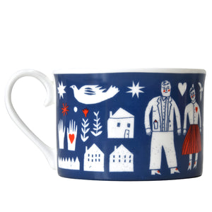 SALE 50% OFF - The Printed Peanut - Folk Life Cup