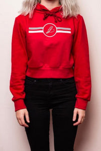 Cropped Hoodie IL - Rouge