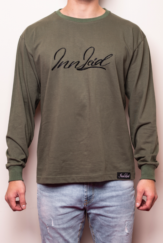 Long Sleeves Signature - Kaki