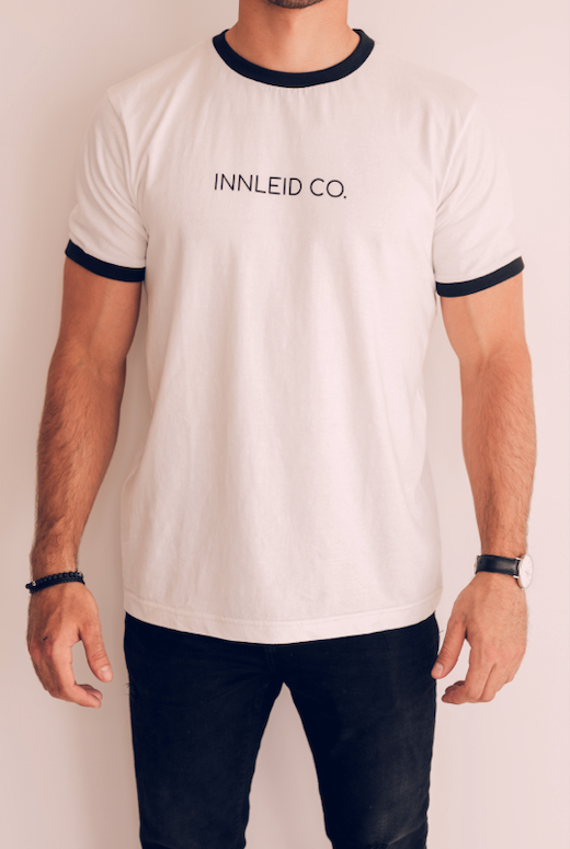 T-Shirt InnLeid co. - Blanc