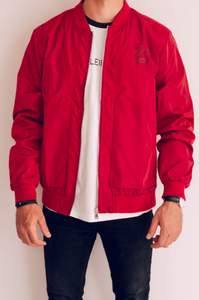Bomber Jacket InnLeid - Rouge
