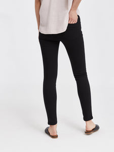 Madrid Midrise Skinny- Black