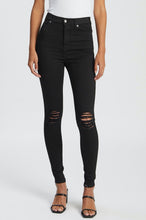 Moxy High Super Skinny - Black Rip
