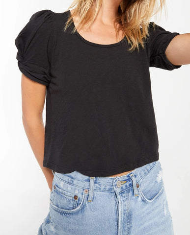 Carrie Puff Sleeve Tee