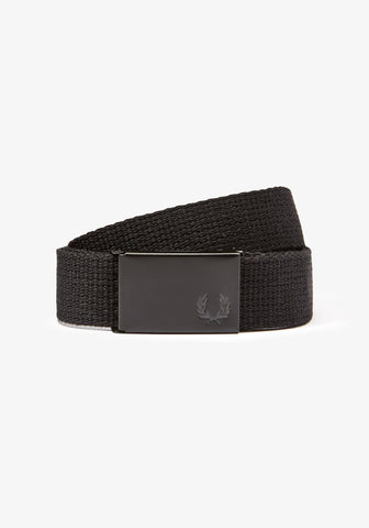 Slim Graphic Webbing Belt
