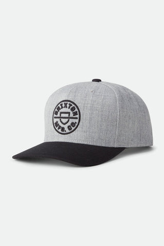 Crest Curved Snapback
