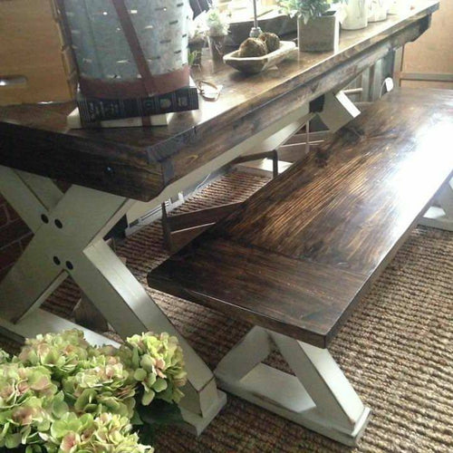 Farm Table & Bench