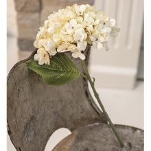 Load image into Gallery viewer, Antique Ivory Hydrangea Pick