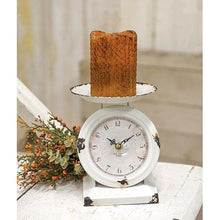Load image into Gallery viewer, Farmhouse  Old Town Scale Clock