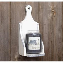 Load image into Gallery viewer, Wood Jar Candle Sconce