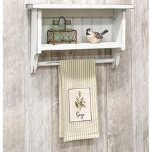 Load image into Gallery viewer, Farmhouse Beadboard Towel Rack
