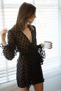Sexy Women Lingerie Temptation Nightdress