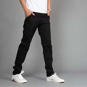 New Design Casual Men Cotton Slim Pants