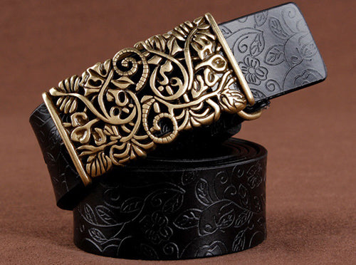 New Casual Femme Buckle Belt