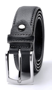 Split Leather Italian Design Belt