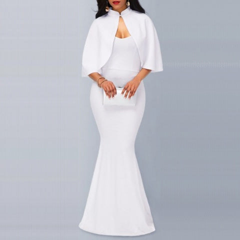 Elegant Bodycon Long Maxi Dress