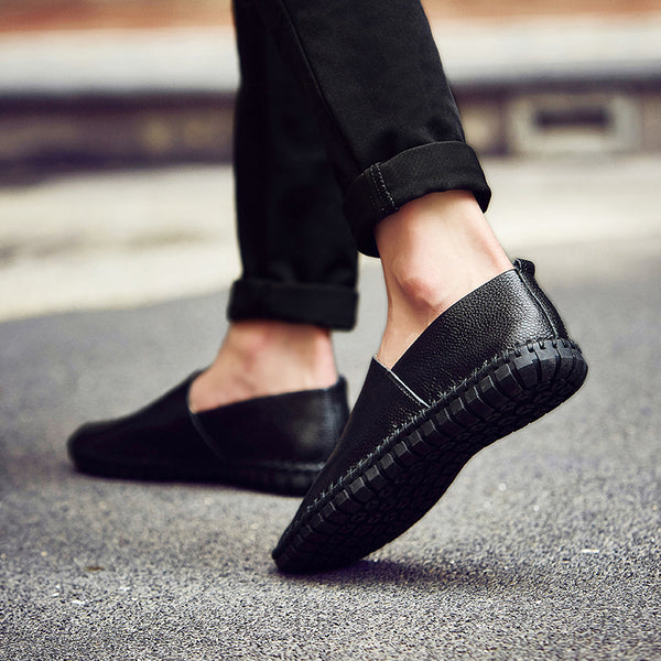 Moccasins Soft Leather Slip On