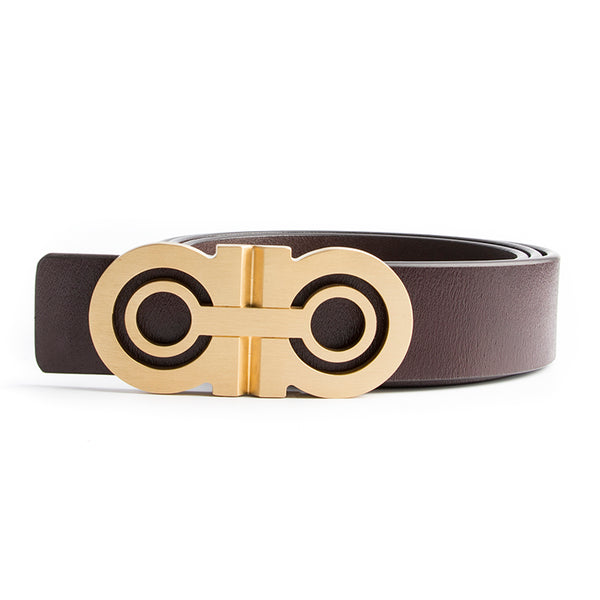 Luxury Solid Brass Designer Belt