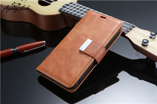Retro Wallet Flip Leather Cover Case