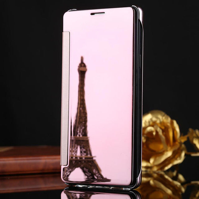 Smart Clear View Case for Samsung Galaxy
