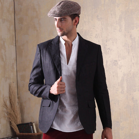 New Casual Slim Fit Men's Blazer