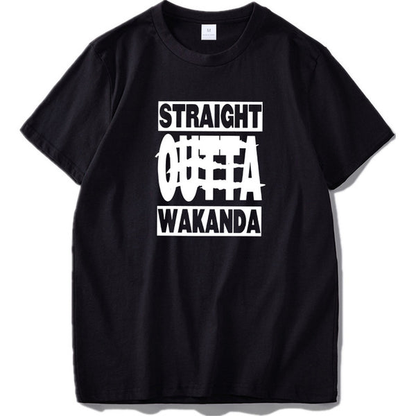 Straight Outta Wakanda T-shirts
