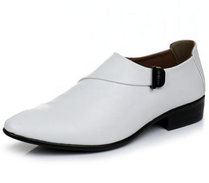 Business White Men Dress Leather Shoes