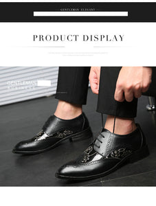 Dress Lace Pointed Toe Oxford