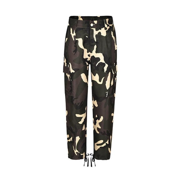 Camouflage Ankle Length Pants