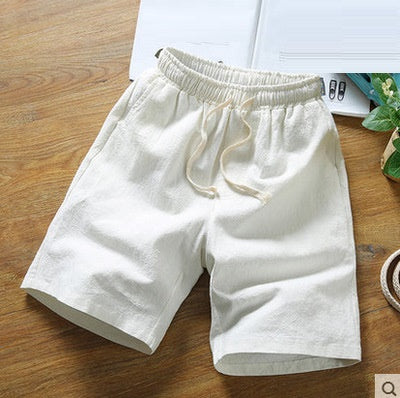 Regular and Big and Tall Linen Cotton Shorts