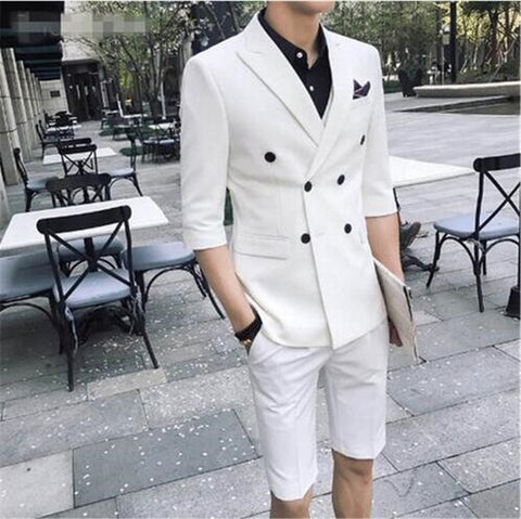 Suits With Short Pants 2 Piece
